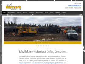 Aardvark Drilling Inc. – design / build / maintenance